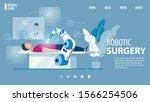 robotic surgery innovative... | Shutterstock .eps vector #1566254506