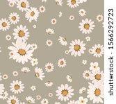 floral fashion print design... | Shutterstock .eps vector #1566292723