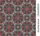 seamless pattern with ethnic... | Shutterstock .eps vector #156630014