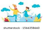 modern vector illustration of... | Shutterstock .eps vector #1566358660