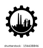 industrial icon   | Shutterstock .eps vector #156638846