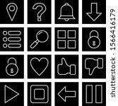 16 basic elements icons for...