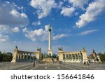 Heroes Square in Budapest,Hungary
