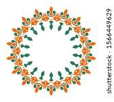 symbol or logo ornament object...   Shutterstock . vector #1566449629