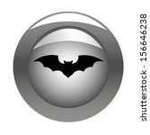 metallic button with halloween... | Shutterstock .eps vector #156646238