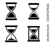 Hourglass Icon  Logo Isolated...