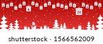 hanging christmas presents...   Shutterstock .eps vector #1566562009