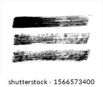 art abstract ink paint stroke... | Shutterstock .eps vector #1566573400