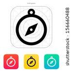 hand compass icon. vector...
