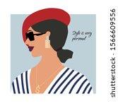 Fashion Paris Woman Profile...