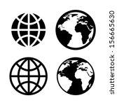 internet icons over white...   Shutterstock .eps vector #156665630