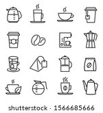 Coffee And Tea Icons   Can Be...