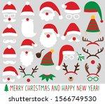 Santa Claus And Elf Hats ...