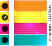 abstract colorful background...   Shutterstock .eps vector #156675260
