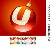 ultimate set of alphabet font...   Shutterstock .eps vector #156677780