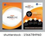 vector business brochure design ... | Shutterstock .eps vector #1566784960