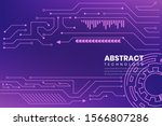abstract technology background...