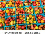 Heirloom Small Tomatoes On...