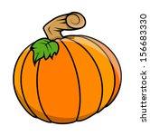 pumpkin vectors for halloween... | Shutterstock .eps vector #156683330