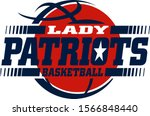 lady patriots basketball team... | Shutterstock .eps vector #1566848440