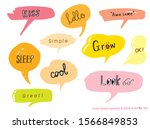 hand drawn set of colorful... | Shutterstock .eps vector #1566849853