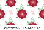 romantic  decorative and... | Shutterstock .eps vector #1566867166