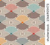 Seamless Pattern With Repeated...