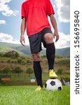 soccer player | Shutterstock . vector #156695840