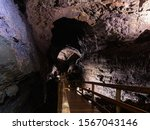 Walkway On The Interior Of The...