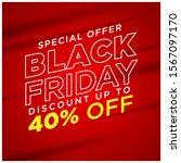 black friday social media... | Shutterstock .eps vector #1567097170