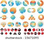 logo set   Shutterstock . vector #15671095