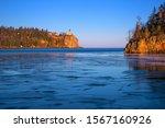 Split Rock Lighthouse In Winter ...