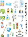 daily necessities image...   Shutterstock .eps vector #1567200229