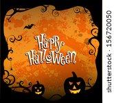 halloween background | Shutterstock .eps vector #156720050