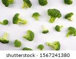 Healthy Vegetable Broccoli On...