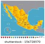 mexico | Shutterstock .eps vector #156728570