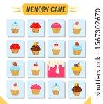 memory game for preschool... | Shutterstock .eps vector #1567302670