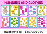 cartoon clothes for girls....   Shutterstock .eps vector #1567309060