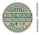 world wildlife conservation day ... | Shutterstock .eps vector #1567312969