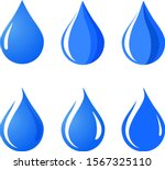 water drop icon  sign ... | Shutterstock .eps vector #1567325110
