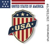 made in usa united states of... | Shutterstock .eps vector #1567336759