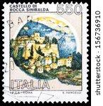 italy   circa 1980  a stamp... | Shutterstock . vector #156736910