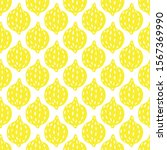 hand drawn lemons seamless... | Shutterstock .eps vector #1567369990