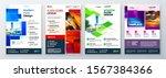 flyer template layout design.... | Shutterstock .eps vector #1567384366