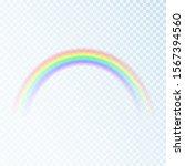 color rainbow. spectrum of... | Shutterstock . vector #1567394560