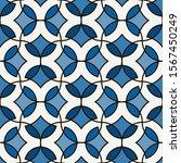floral mosaic tile ornament....   Shutterstock .eps vector #1567450249