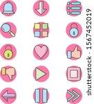 15 icon set of basic elements...