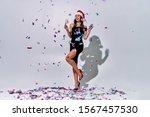 attractive woman in beautiful... | Shutterstock . vector #1567457530