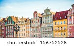 wroclaw city center  market... | Shutterstock . vector #156752528