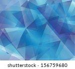 abstract geometric vector... | Shutterstock .eps vector #156759680